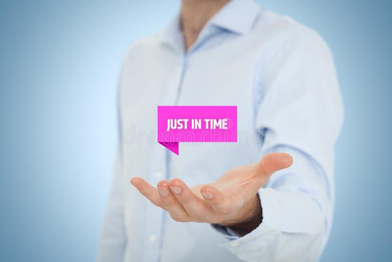 Just-in-time-JIT stockfoto
