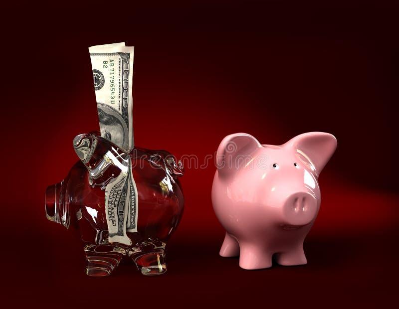 Download Just And Transparent Piggy Bank Stock Illustration - Image: 10522620