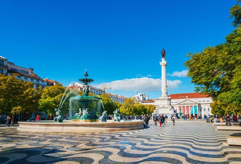Justa van liftde santa in Lissabon, Portugal, Europa stock foto's