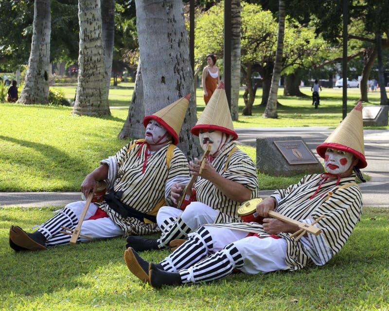 Juste faisant le clown autour photographie stock libre de droits