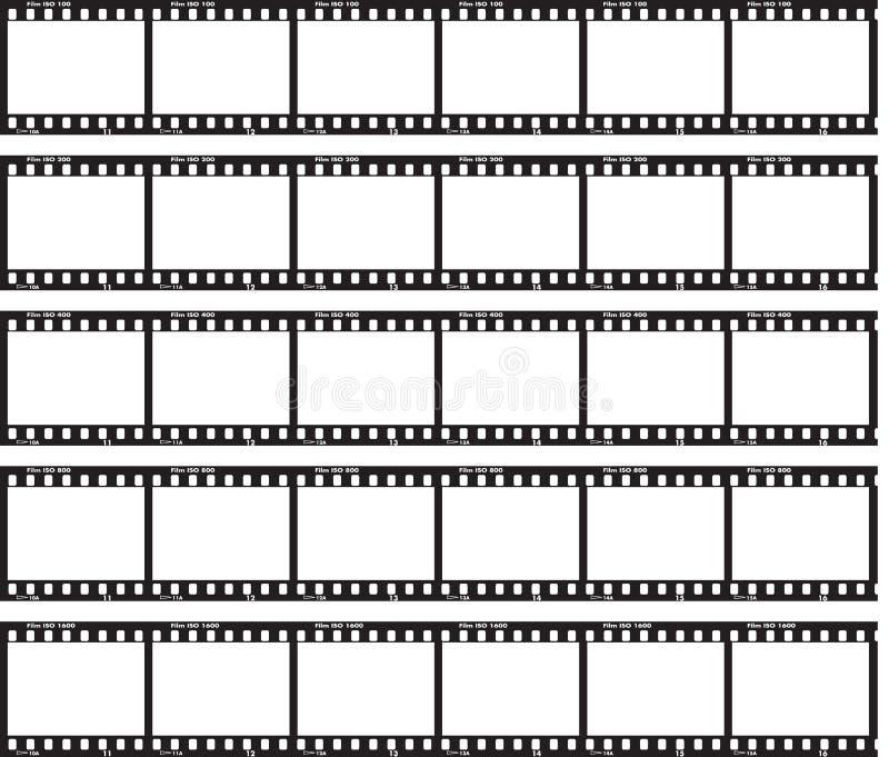 Juste film illustration stock