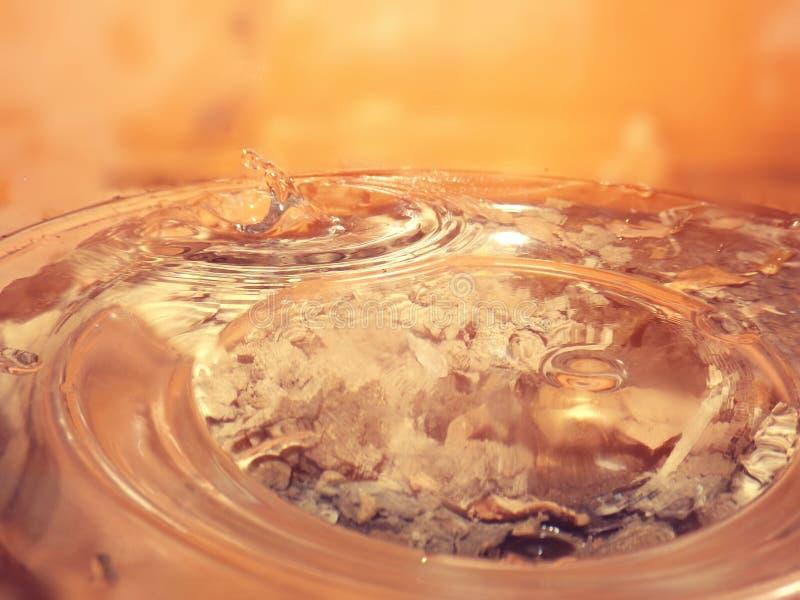 Juste l'eau photo stock
