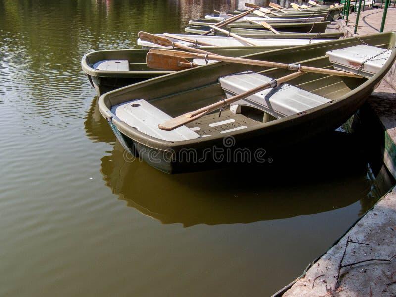 Juste un bateau photographie stock