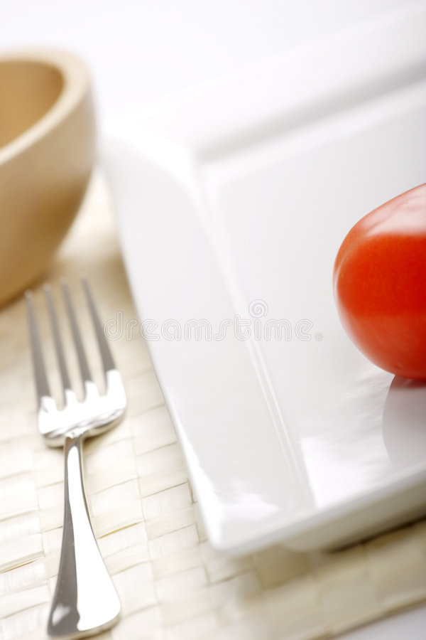 Juste une tomate photographie stock