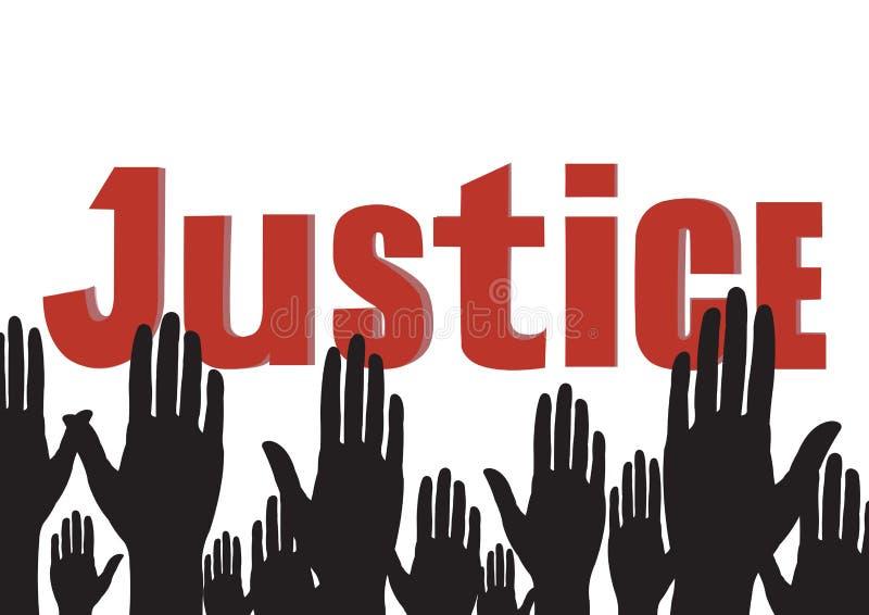 justiça ilustração stock