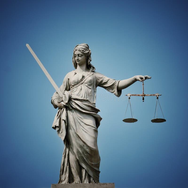 justice夫人 图库摄影