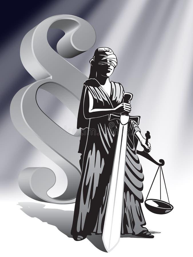 Download Justice stock illustration. Illustration of high, blind - 2448297