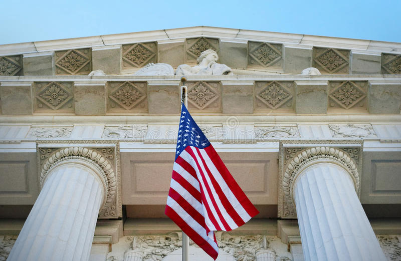 Justice américaine images libres de droits