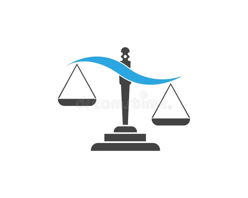 justice illustration libre de droits