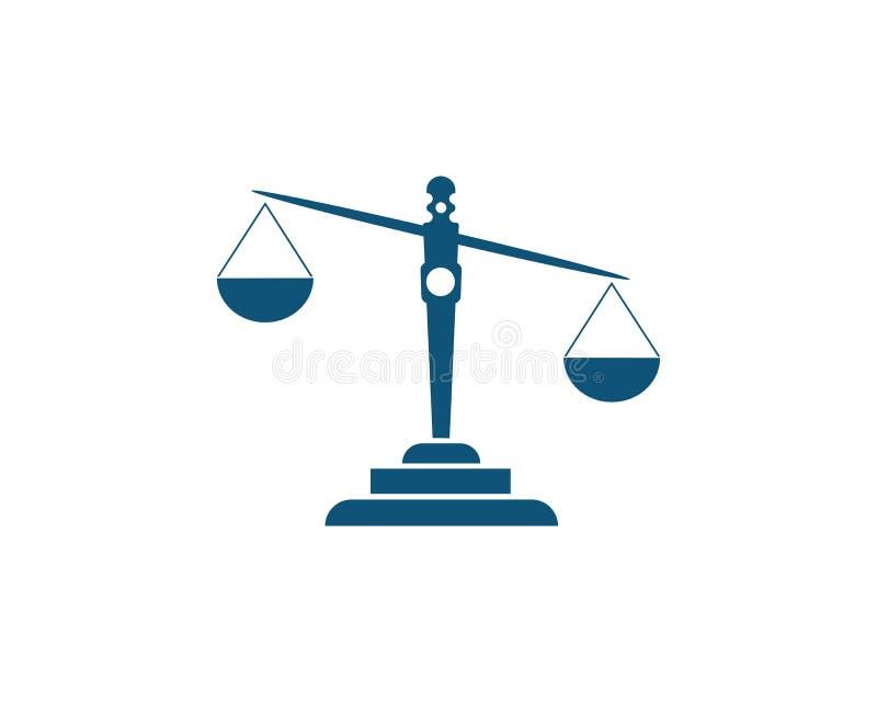 justice illustration stock