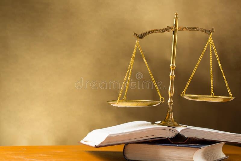 Justice d'échelle image libre de droits