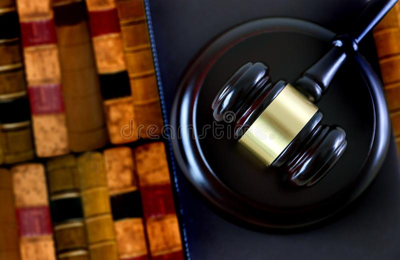 justice and law concept judge the gavel,working with digital c royalty free stock photo