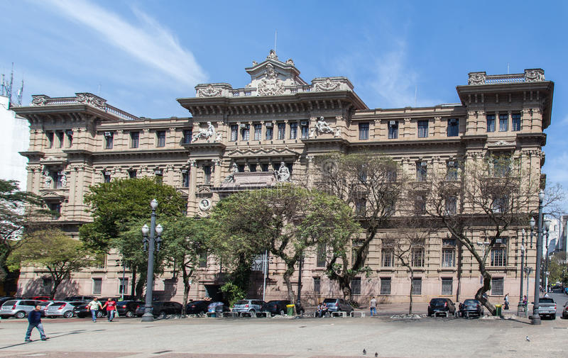 Download Justice Palace Building Sao Paulo Brazil Editorial Photo - Image: 26640846