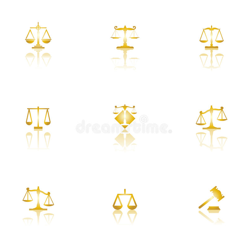Free Justice Scales Royalty Free Stock Photo - 11116455