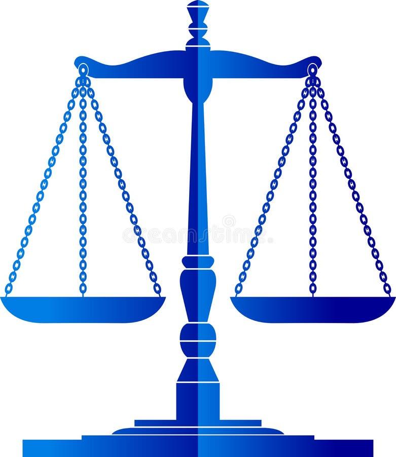 Download Justice scales stock vector. Image of judgement, litigation - 22215416