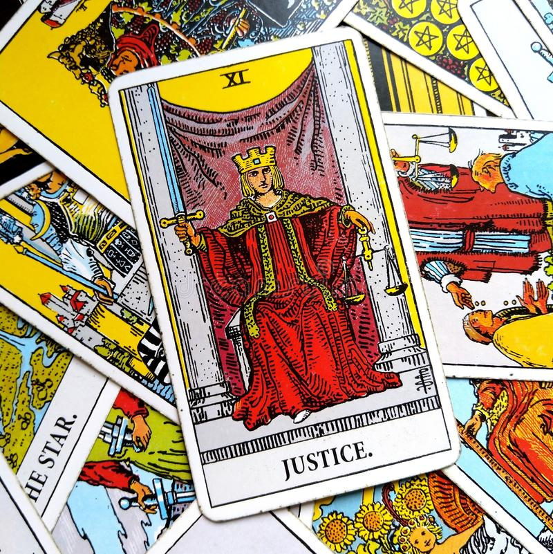 Justice Tarot Card Court And Law, Legalities, Contracts