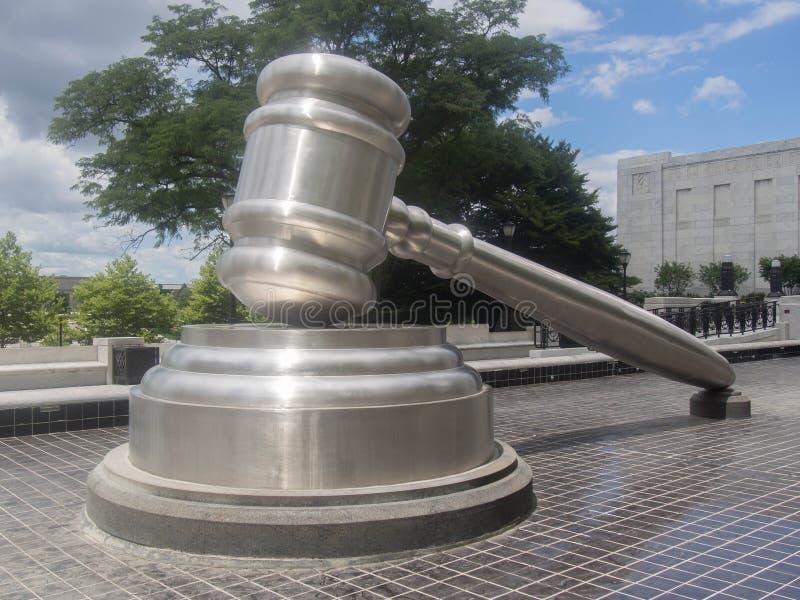 Justicia de acero fotografía de archivo