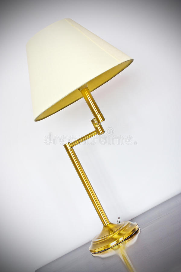 Justierbare Tabellen-Lampe lizenzfreie stockbilder