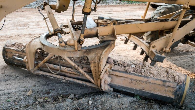 Justieren Sie waagerecht ausgerichtete Bodenverbesserung stockbild