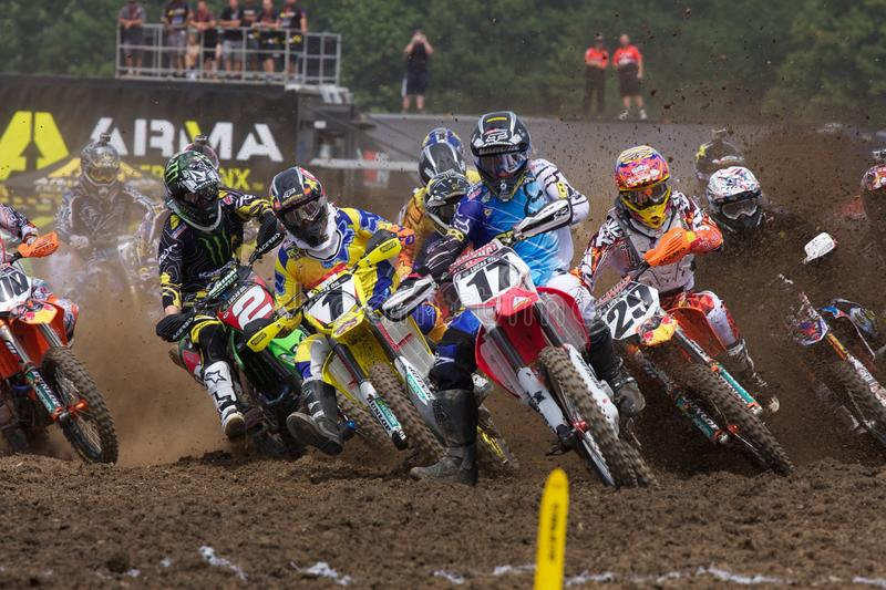Justin Barcia Holeshot photos stock