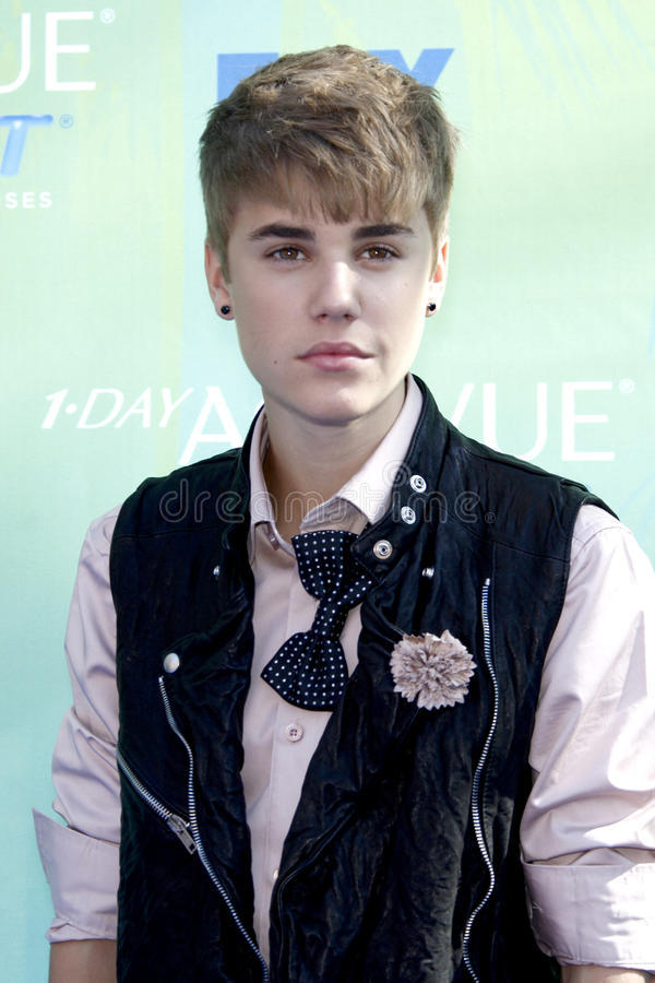 Download Justin Bieber editorial stock photo. Image of teen, 2011 - 23342028