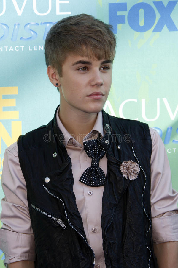 Justin Bieber photos stock