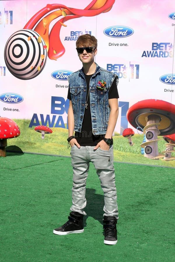 Justin Bieber imágenes de archivo libres de regalías