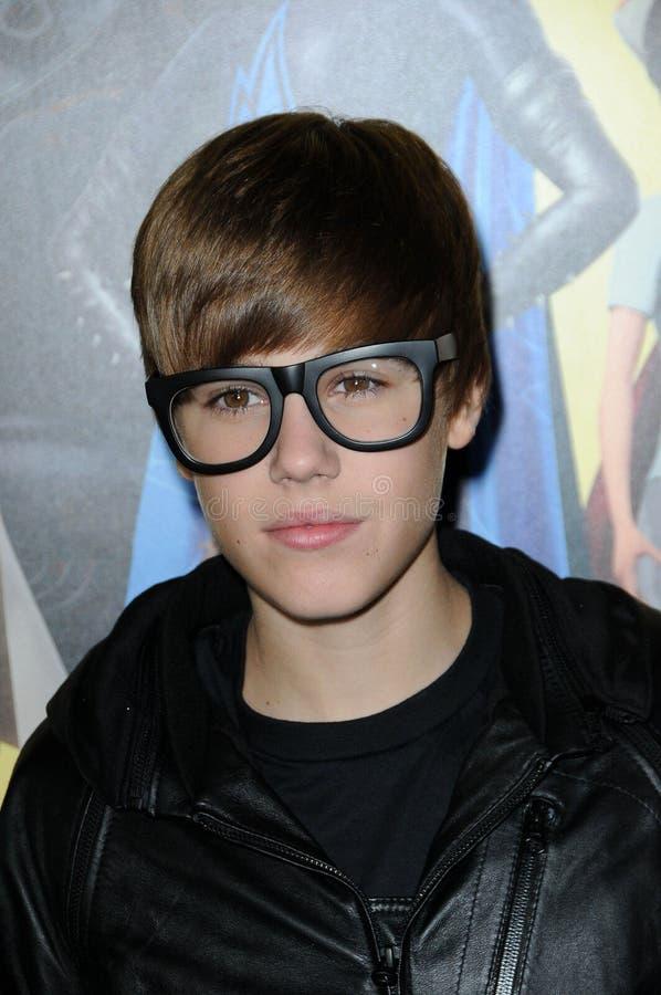 Justin Bieber image stock