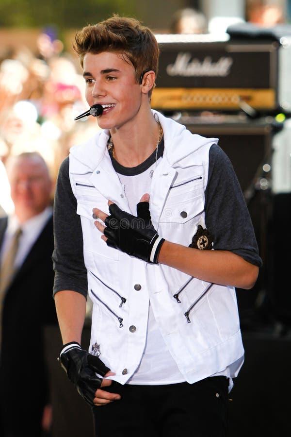 Justin Bieber lizenzfreie stockfotografie