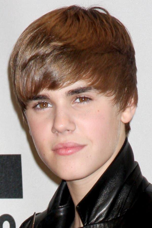 Justin Bieber image libre de droits