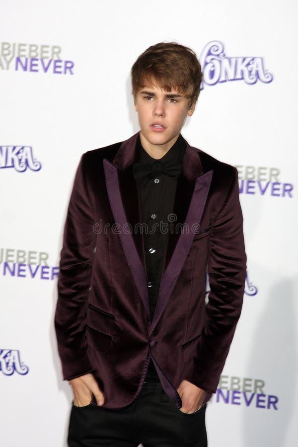 Justin Bieber fotografering för bildbyråer
