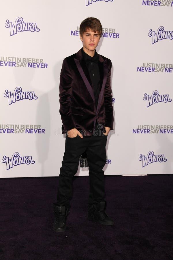 Justin Bieber photos libres de droits