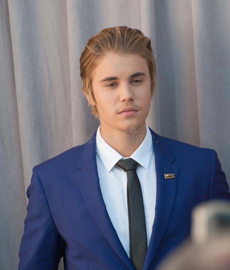 Justin Bieber imagem de stock
