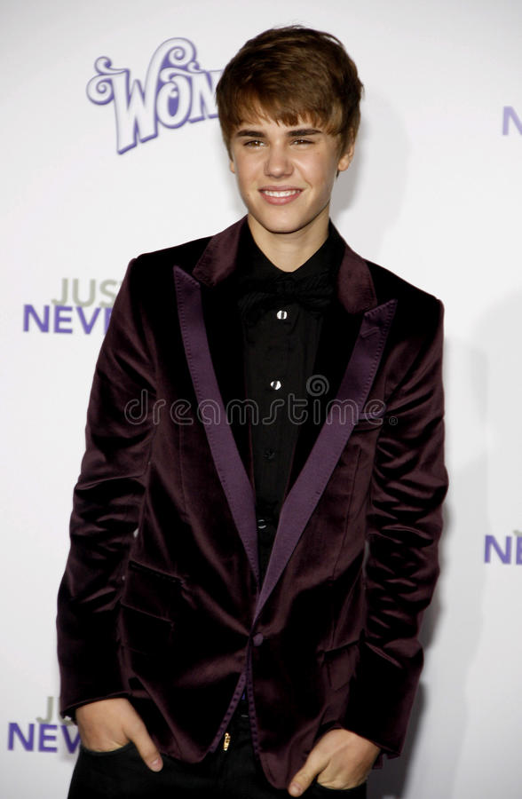 Justin Bieber photo stock