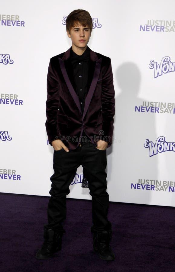 Justin Bieber photographie stock