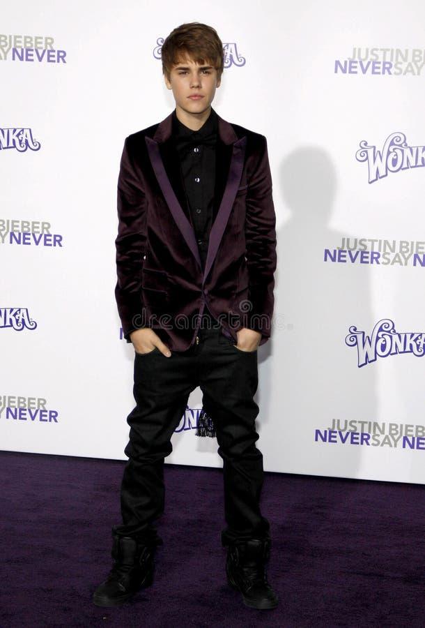 Justin Bieber photographie stock libre de droits