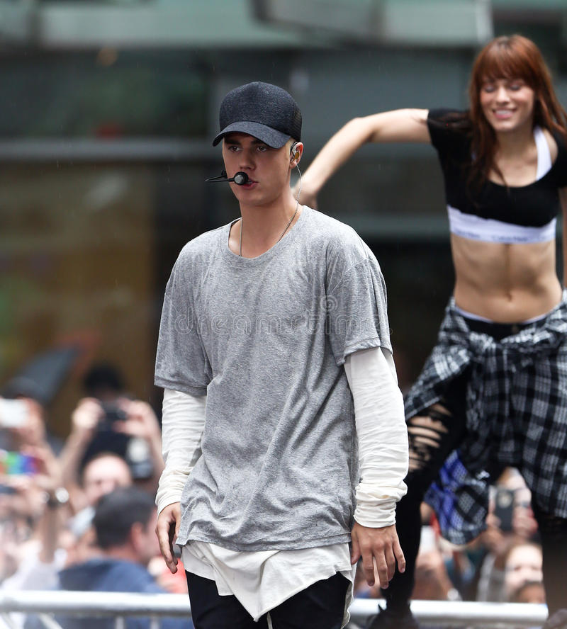 Justin Bieber lizenzfreies stockfoto