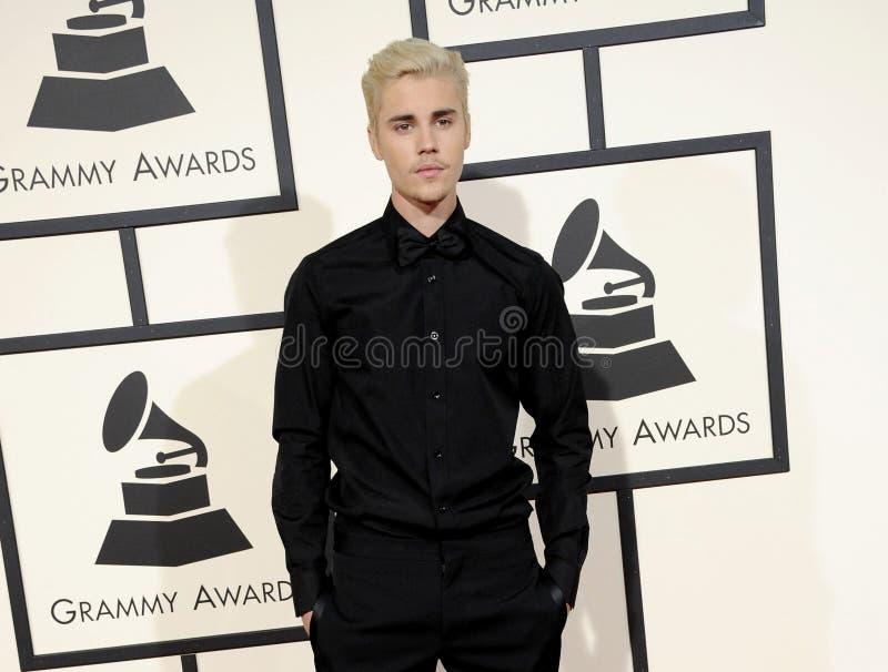 Justin Bieber imagens de stock