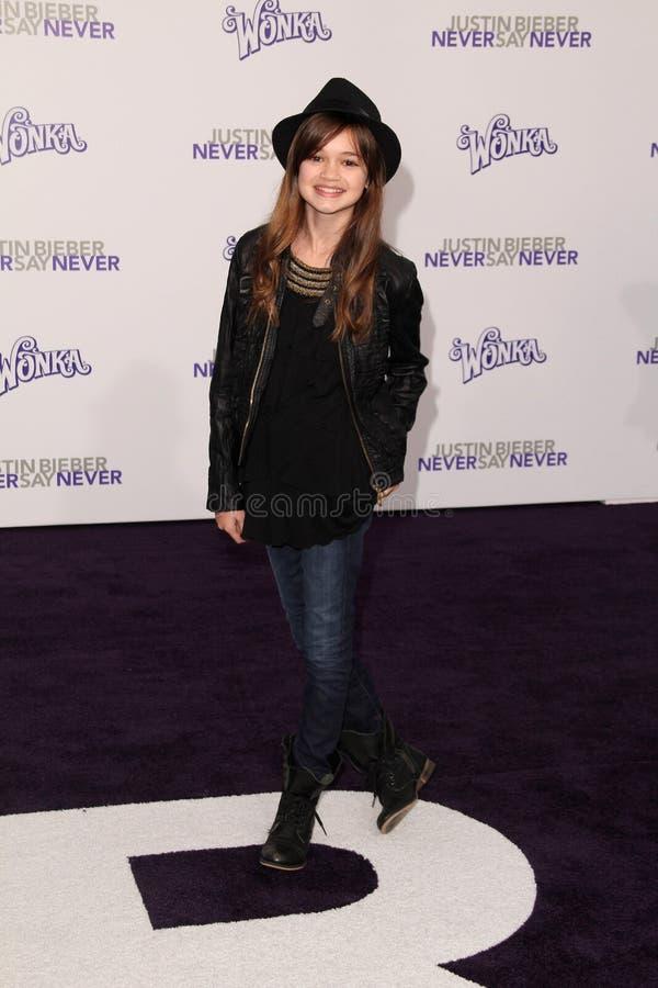 Download Justin Bieber,Ciara Bravo editorial image. Image of premiere - 24817020