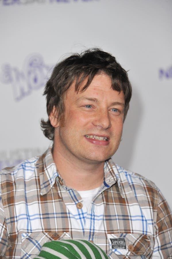 Justin Bieber, Jamie Oliver imagens de stock royalty free