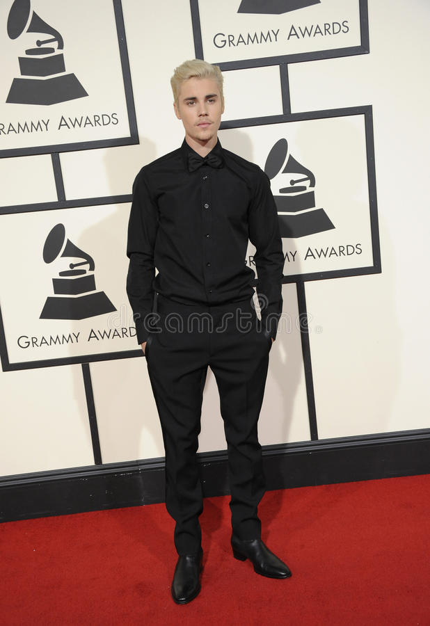 Justin Bieber royalty free stock photography