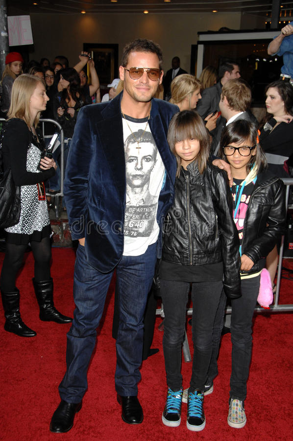 Justin Chambers photographie stock libre de droits