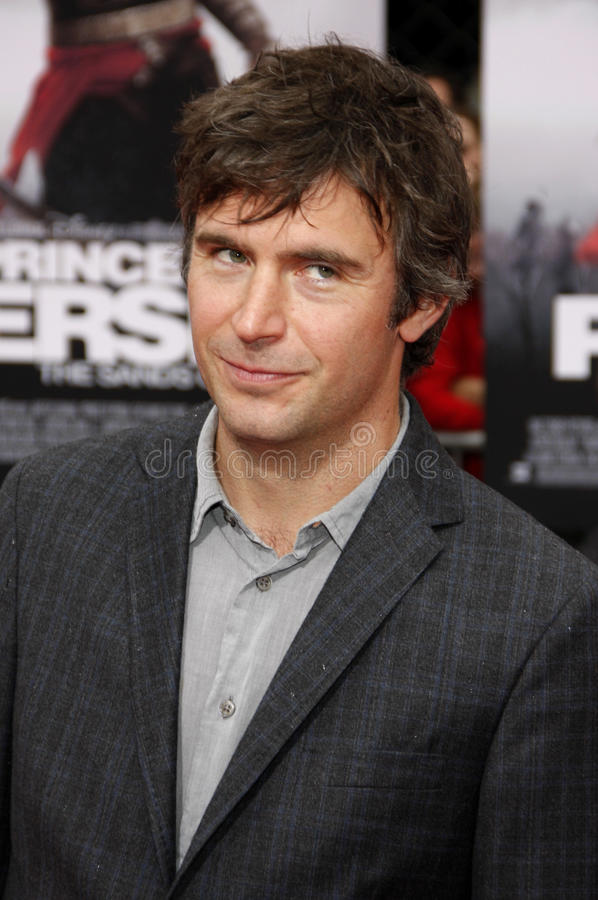 Justin Davenport. At the Los Angeles Premiere of `Prince Of Persia: The Sands Of Time` in Hollywood, California, United States on May 17, 2010 royalty free stock image