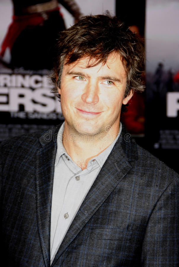 Justin Davenport. At the Los Angeles Premiere of `Prince Of Persia: The Sands Of Time` in Hollywood, California, United States on May 17, 2010 royalty free stock photography