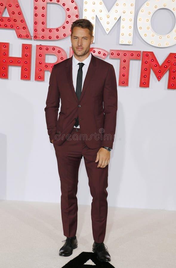 Justin Hartley royalty-vrije stock foto