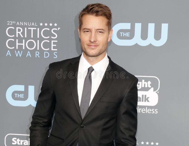 Justin Hartley images stock