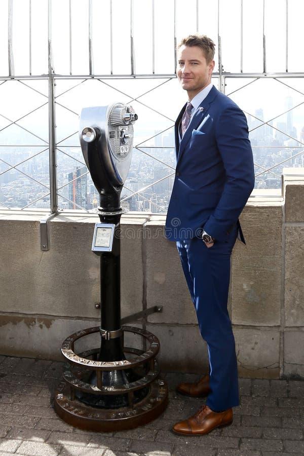 Justin Hartley royalty-vrije stock afbeeldingen