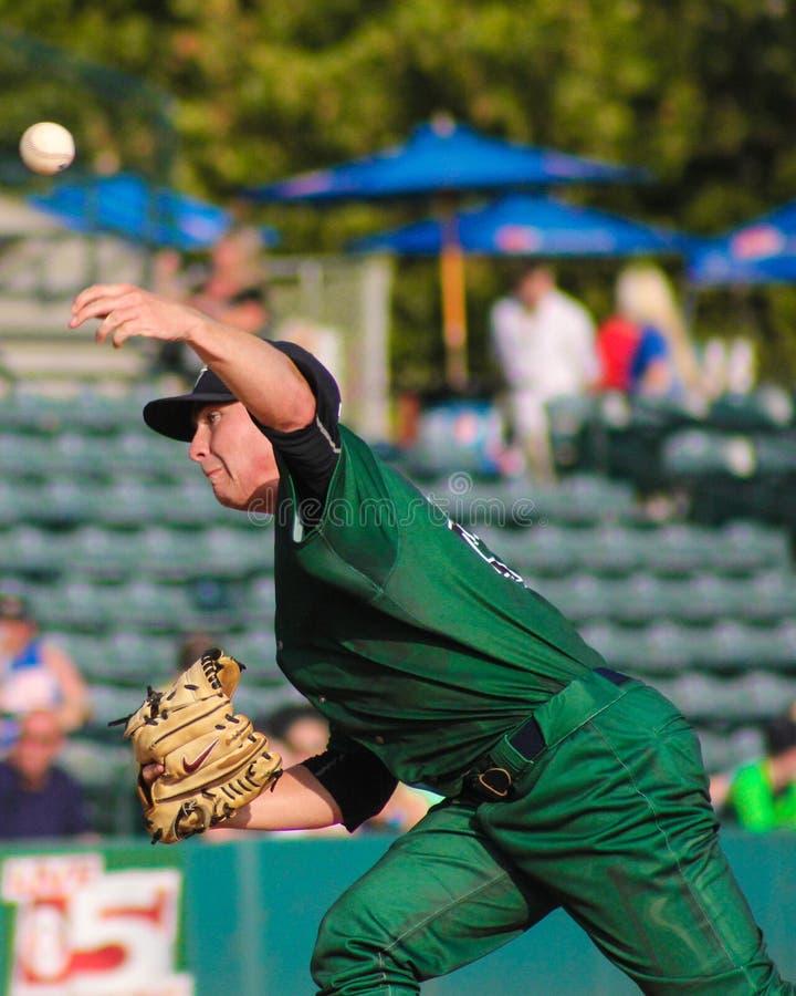 Justin Kamplain, Charleston RiverDogs images stock