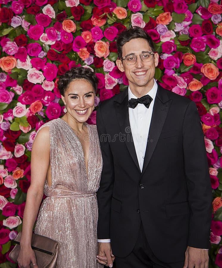 Justin Peck em Tony Awards 2018 fotografia de stock