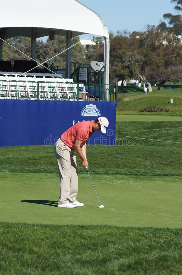 Download Justin Rose 2012 Farmers Insurance Open Editorial Stock Image - Image of hole, grass: 23022014